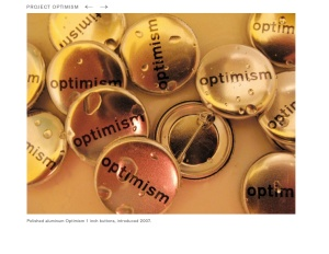 Project Optimism pins by Reed Seifer