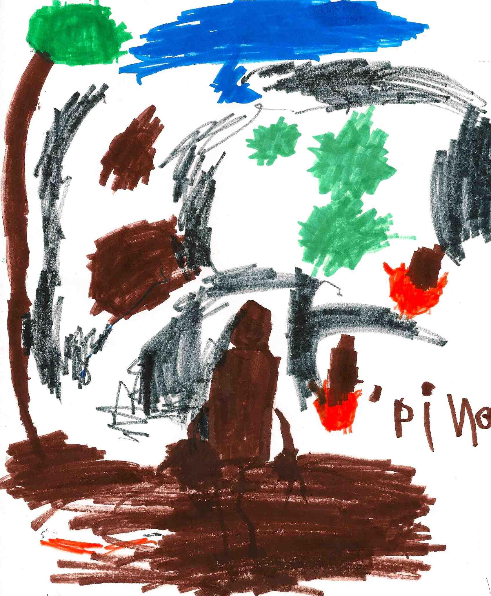 2 more kids halloween poems art predator