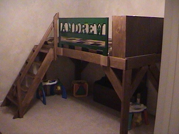 ... Plans Twin Over Queen Bunk Beds For Adults. on homemade bunk beds