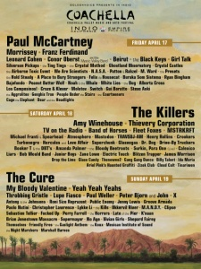Coachell 2009 main poster