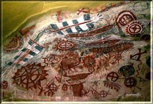 Chumash Painted Cave Art