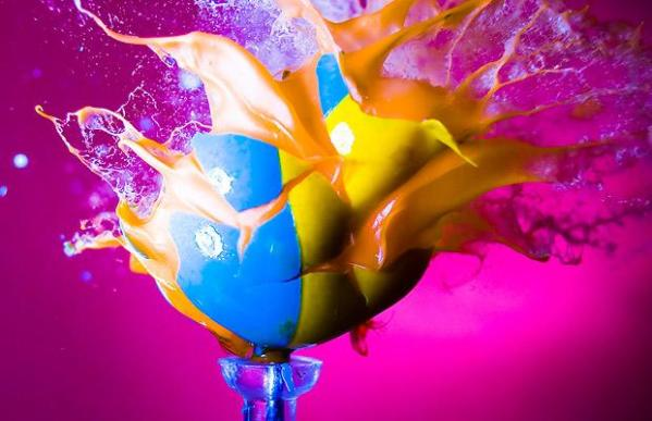 Paint Ball Express by Alan Sailer