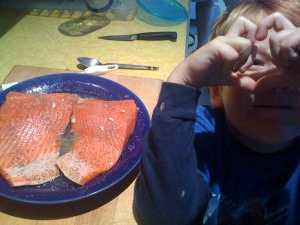 love copper river salmon