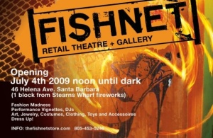 fishnet the store opens in Santa Barbara July 4