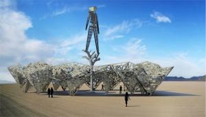 2009 pavilion Burning Man