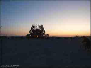 burning man 2009 the temple 08 by Gary Stevens