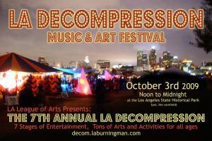 LA Burning Man Decompression Party 2009
