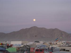 sunset Burning Man 2009 by Spitler