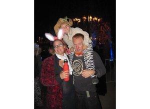 Art Predator and family at LA Decompression 2009