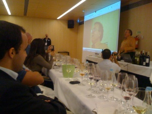 Charles Metcalf Grand tasting of Portugal European WIne Bloggers Conf 2009