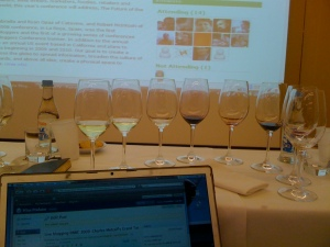Live Blogging at the European Wine bloggers Conference
