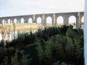Evora Roman Aquaduct from Hotel M'ar de ArSM
