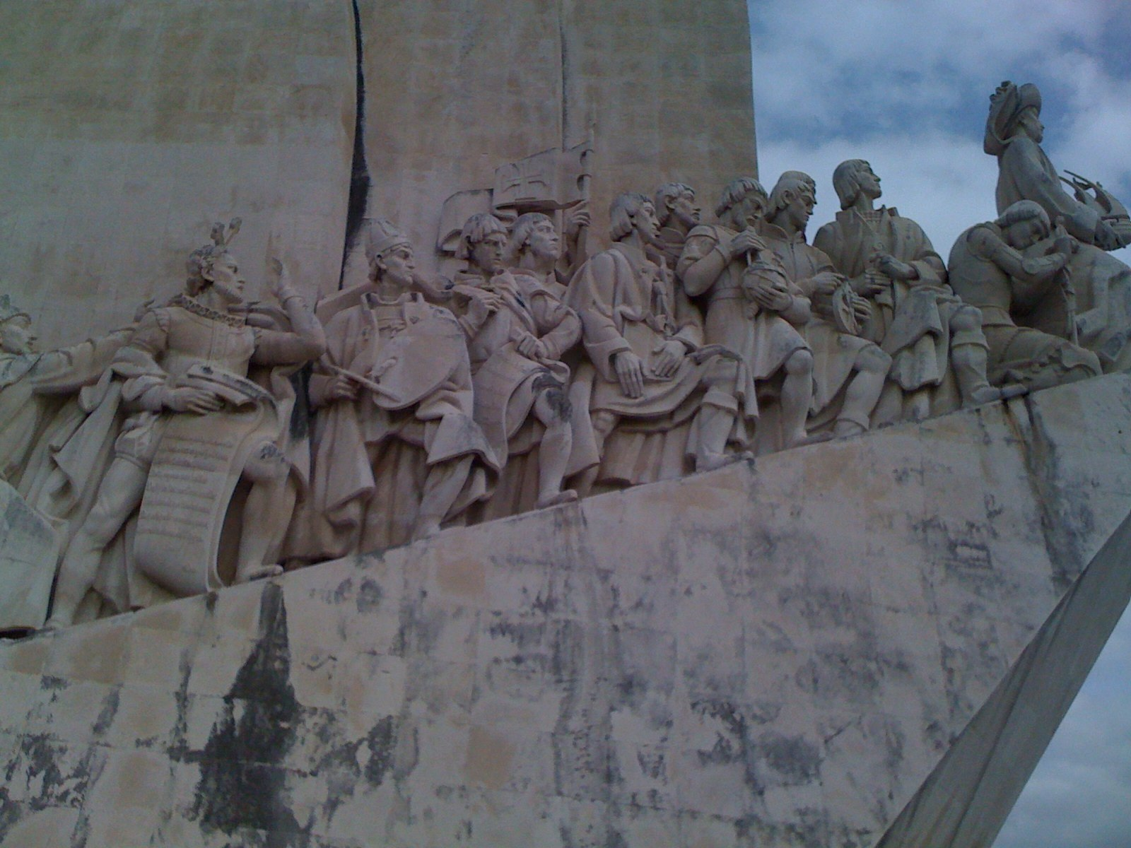 Portuguese explorers statue near Belem   art predator