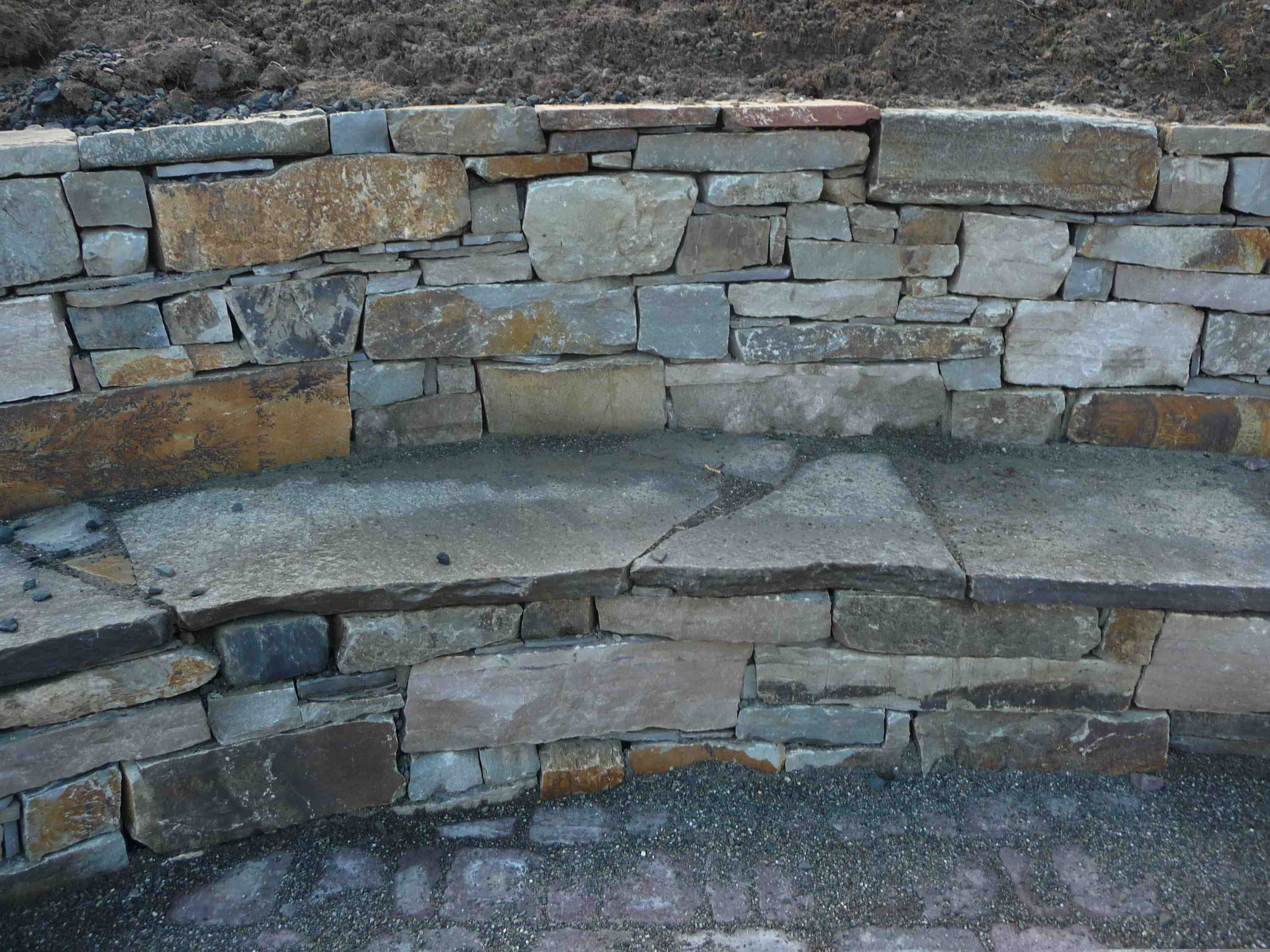 Building A Stone Wall : Stone foundation symposium meets to build learn in