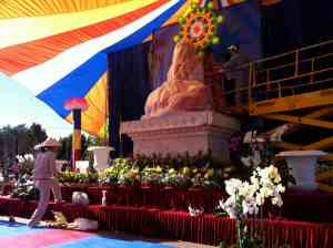 Giant Solid Jade Buddha Arrives in Ventura: Come Pray for Peace Saturday 2/12/11