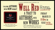 Ojai WordFest: Be Well Read 3/25! Join Poetry Boot Camp 3/26 with Danika!