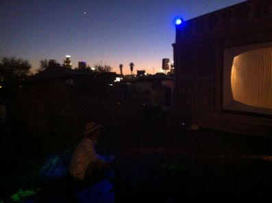 sunset audience for sTeVe at LA Decom 2013