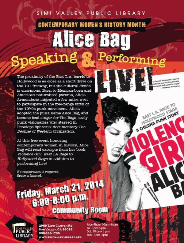 Alice Bag in Simi