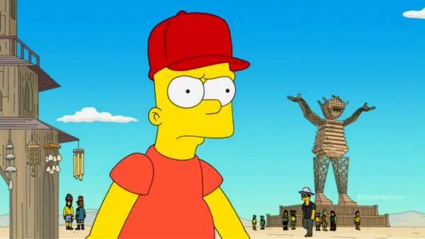 Larry Harvey Simpsons