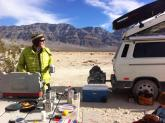 Coffee in Camp, Death Valley NP 2014