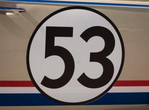 Herbie at the Petersen Museum