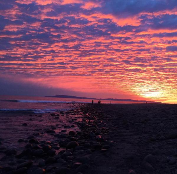 Solstice eve in Ventura photo by Bethena Nuzback