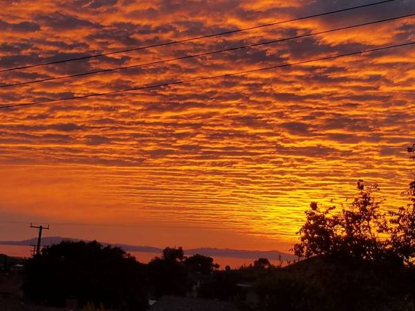 solstice eve sunset by Ventura City Council member Carl Morehouse